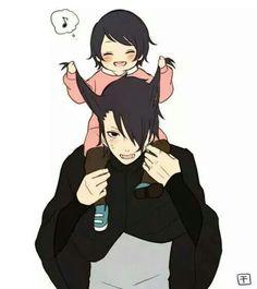 Salada and Sasuke ❤