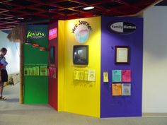 Great idea for an information area!
