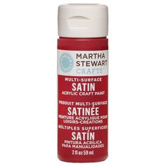 Martha Stewart Crafts Multi-Surface Satin Acrylic Craft Paint, 2oz. in