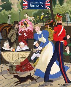London Life, London Art, Hyde Park London, London Poster, John Fitzgerald, British Rail, Kendall Jenner Style, Prince Philip, London Calling
