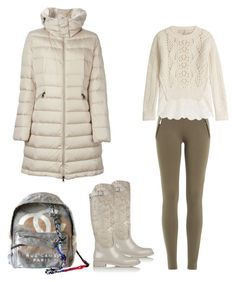 """Cosmina"" by cosmina79 on Polyvore featuring René Caovilla, Moncler, Emilio Pucci, Vanessa Bruno and Chanel"
