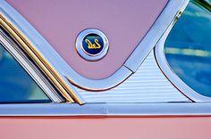 956 DeSoto Fireflite Sportsman Hardtop Emblem by Jill Reger