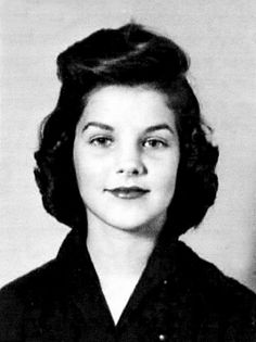 Priscilla Presley Yearbook photo.
