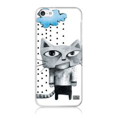"""Egyedi Deluxe Dollz telefontok a """"Morcos macska #felhő"""", a 'Sötét Szívek Szálló' kollekcióból. Laptop, Phone Cases, Phone Case, Laptops, The Notebook"""