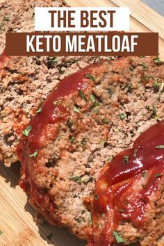 Beef Meatloaf Recipes, Low Carb Meatloaf, Good Meatloaf Recipe, Beef Recipes, Cooking Recipes, Low Carb Hamburger Recipes, Amish Recipes, Dutch Recipes, Pastries