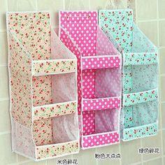 New 2014 Multi-layer Fabric Storage Bags Wall Door Closet Hanging Bag Storage Organizer Novelty Household Z177