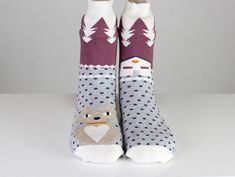$12.99 hippirhino handmade bags purses totes * Cat Kitty Farm House Socks Casual Funny Cute Winter Socks   Free Worldwide Shipping Funny Socks, Cute Socks, Girls Socks, Women Socks, Winter Socks, Sock Animals, Happy Socks, Ankle Socks, Handmade Bags
