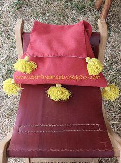 Pilgertasche, pilgrims bag, purse medieval, Mittelalter, 13.Jhd. 13th century Accessoirs | die Handmaid