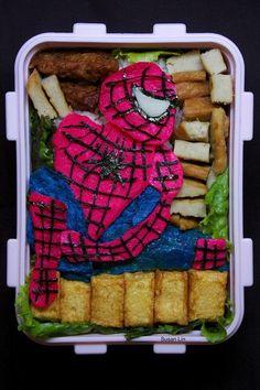Spiderman Bento Box