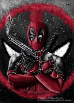 #Deadpool #Fan #Art.(DeadPool) By: Gwend26. ÅWESOMENESS!!!™ ÅÅÅ+