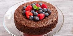 This sinfully delicious chocolate cake is actually a lot more heavenly than it…