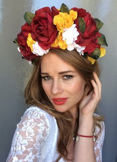 Ukrainian Flower Crown - Ukrainian Venok - Lana Del rey Flower Crown