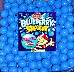 """200 Blueberry smoothie 1"""" gumballs Fresh! For parties/receptions/fun/vending Candy buffets #nvcandy SALE w/coupon"""