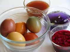 Easter egg dye the natural and beautiful way
