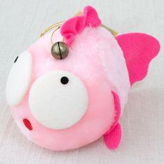 Kingyo Chuiho Gyopi-chan Plush Doll Goldfish Figure JAPAN ANIME MANGA