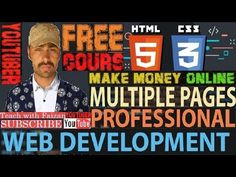 Complete HTML and CSS Tutorial  for beginners ||  Step By Step Tutorial ...