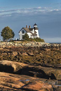 ✮ Prospect Harbor Light - Prospect Harbor Point, Winter Harbor, Maine