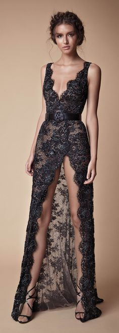 2019 Black Prom Dresses Sexy High Front Split Deep V Neck Full Lace Beaded Elegant Dresses, Pretty Dresses, Sexy Dresses, Prom Dresses, Formal Dresses, Sexy Gown, Sexy Long Dress, Wedding Dresses, Pretty Clothes