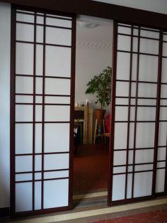 204 meilleures images du tableau cloison japonaise coulissante et porte en 2018. Black Bedroom Furniture Sets. Home Design Ideas