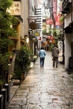 A street in Dotonbori, Osaka