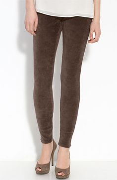 Hue corduroy leggings, available at Splurge & Co in Berry, Taupe, Brown Print