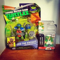 By kaizel12: Trus pick up. #leotheknight #tmnt #teenagemutantninjaturtles #playmatestoys #Leonardo #Luigi #8bitluigi #superMariobros #worldofNintendo #jakkspacific #Nintendo #8bits #8bits #microhobbit