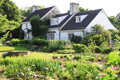 Photo Credit: Courtesy of Sotheby's. The exterior of Mellon's residence at Oak Spring.