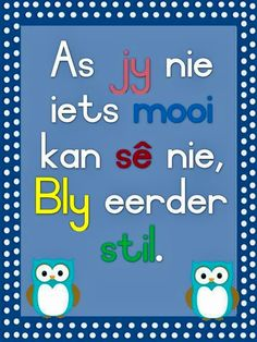 Classroom Rules, Classroom Behavior, Preschool Worksheets, Preschool Learning, Afrikaans Language, Afrikaanse Quotes, School Murals, Finishing School, Teaching Quotes