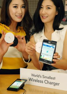 LG WCP-300 , World's smallest wireless charger