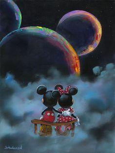 Cartoon Wallpaper, Mickey Mouse Wallpaper Iphone, Cute Disney Wallpaper, Desenho Toy Story, Arte Do Mickey Mouse, Miki Mouse, Disney Paintings, Art Paintings, Disney Fine Art
