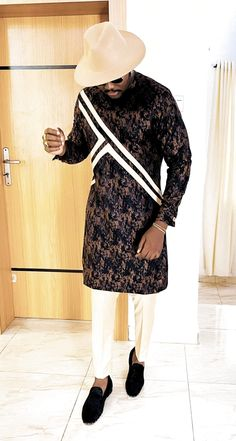 African Wear Styles For Men, African Shirts For Men, African Dresses Men, African Attire For Men, African Clothing For Men, Latest African Fashion Dresses, African Print Fashion, Costume Africain, Dashiki For Men