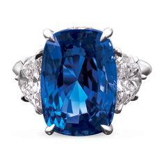 Diamond Jewelry Untreated Burma Sapphire Ring, Carats - Recent Acquisitions Sapphire Jewelry, Diamond Jewelry, Jewelry Rings, Sapphire Rings, Jewlery, Women's Rings, Star Sapphire, High Jewelry, Jewelry Art