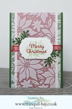 Stamped Christmas Cards, Stampin Up Christmas, Christmas Cards To Make, Christmas In July, Xmas Cards, Holiday Cards, Winter Cards, Christmas Stuff, Christmas Crafts