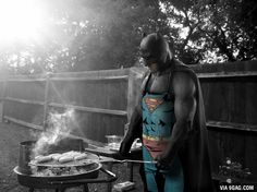 Ben Affleck is getting his hot dogs ready