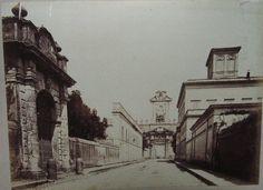 Porta Pia (Michelangelo), facciata interna 1880