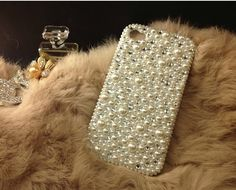 Pearl mix crystal Iphone 4 case, Iphone 4S