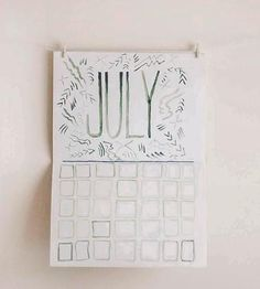 12-Month Watercolor Wall Calendar | Gifts Cards & Stationery | sewindieshop | Scoutmob Shoppe | Product Detail