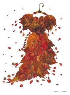 Elżbieta Wodała e Sua Arte em Flores Secas