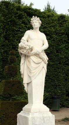 Vertumno - media luna de Versalles