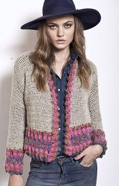 ideas crochet cardigan women jackets sweater coats for 2019 Crochet Coat, Crochet Cardigan Pattern, Crochet Jacket, Crochet Blouse, Crochet Shawl, Crochet Clothes, Kimono Pattern, Handgestrickte Pullover, Mode Crochet