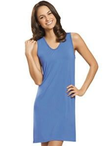 1a1bba78b600 Sleep luxuriously in Jockey women's sleep chemises. This chemise features  ultra-soft Smart Sleep fabric that's perfect for warm summer nights.