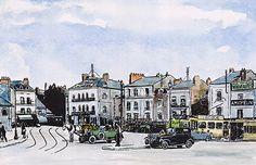 Nantes sud, dessin de Benoît Lesne