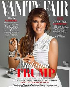 Phanney Diaries: EXCLUSIVE: FIRST LADY MELANIA TRUMP COVERS VANITY ...