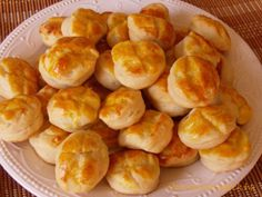 Vajas pogácsa, sajtos pogácsa Pretzel Bites, Sweets, Bread, Snacks, Cookies, Food, Sweet Pastries, Appetizers, Biscuits