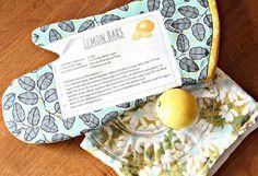 Mothers Day Recipe Oven Mitt Tutorial