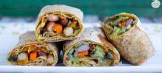 Burrito al farro vegan