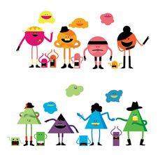 simple character design - Buscar con Google