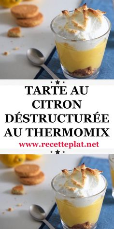 Discover recipes, home ideas, style inspiration and other ideas to try. Creme Dessert Thermomix, Thermomix Desserts, Flan, Main Meals, Buffet, Biscuits, Deserts, Food And Drink, Pudding