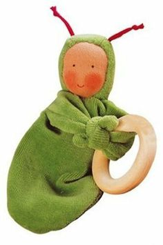 Käthe Kruse 74173 Rainbow Baby Green Grabbing Ring Doll by Kathe Kruse. $19.99. From the Manufacturer                Käthe Kruse 74173 Rainbow Baby Green Grabbing Ring Doll                                    Product Description                Rainbow Baby is close to being the perfect first toy for baby. Made of ultra-soft cotton, this little doll comes holding a ring made of beech wood perfect for teething and easing sore little gums. Colorful, soft and easy to hold, this dol...
