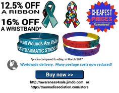 Cheapest Dissociative Identity Disorder & Posttraumatic Stress Disorder ribbons & wristbands from Trauma Dissociation Ptsd, Trauma, Dissociation, Stress Disorders, Ribbons, Psychology, Identity, Grinding, Psicologia